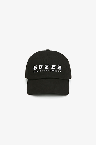 GOZER BASIC BASEBALL CAP_BLACK