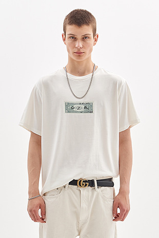 DOLLAR T-SHIRT_WHITE IVORY