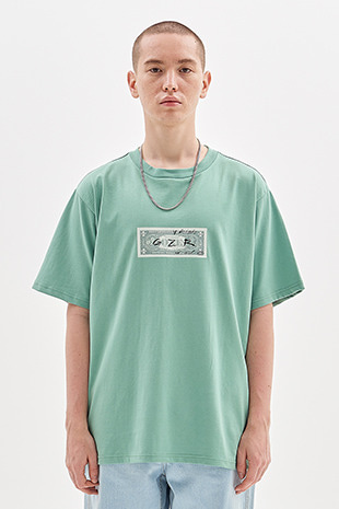 DOLLAR T-SHIRT_GREEN