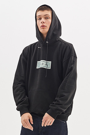 DOLLAR HOODY_BLACK